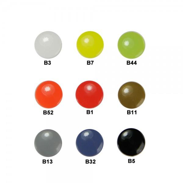 Plastic Snap Fasteners - round medium (Kam Snaps T5)