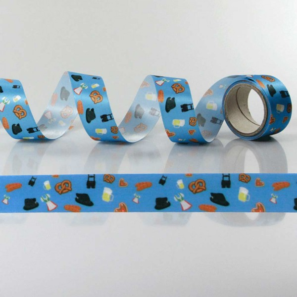 Gift Ribbon with design Oktoberfest / folk festival
