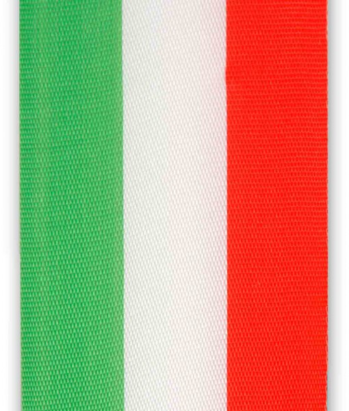 national ribbon green - white - red
