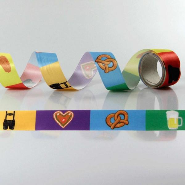 Gift Ribbon with design Oktoberfest / folk festival 2
