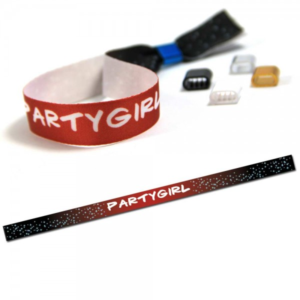 """Party Wristband """"Partygirl"""" Design 4"""