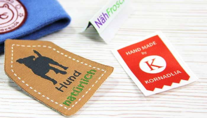 Woven-textile-labels-with-logo-k