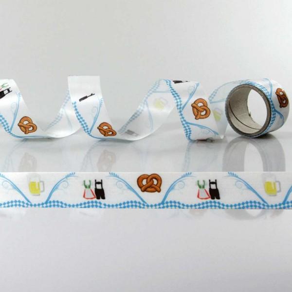 Gift Ribbon with design Folk Festival