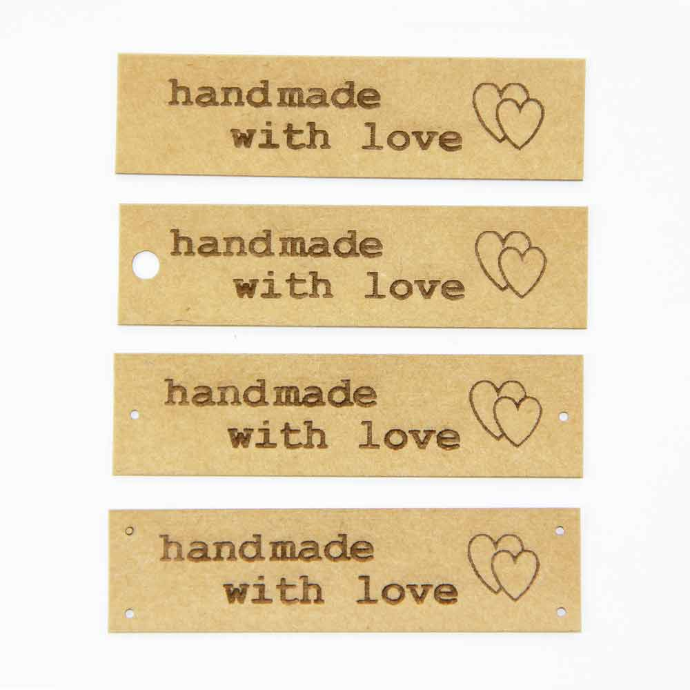 5 labels handmade Labels of SnapPap