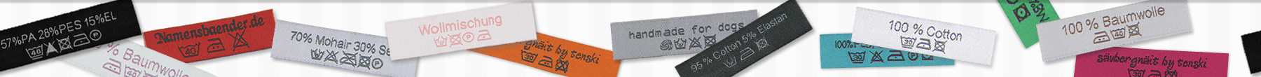 Standard Woven Care Labels