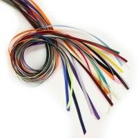 Satin ribbon for hang tags